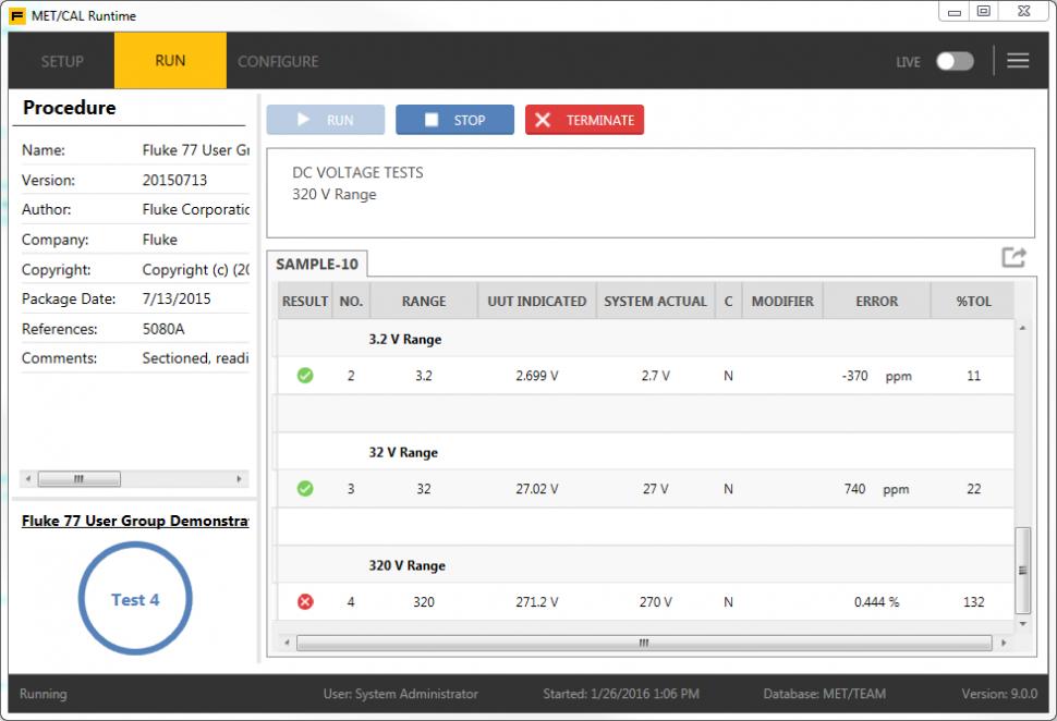 Software de administración de calibraciones MET/CAL® versión 9 (con ...