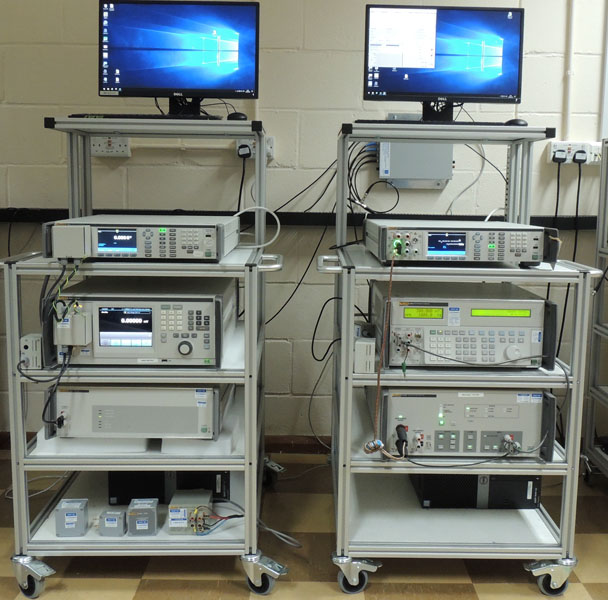 Factory automated calibration system
